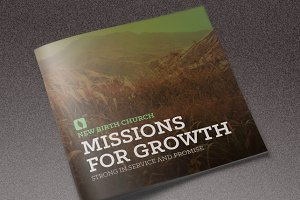 Missions for Growth Church Brochure