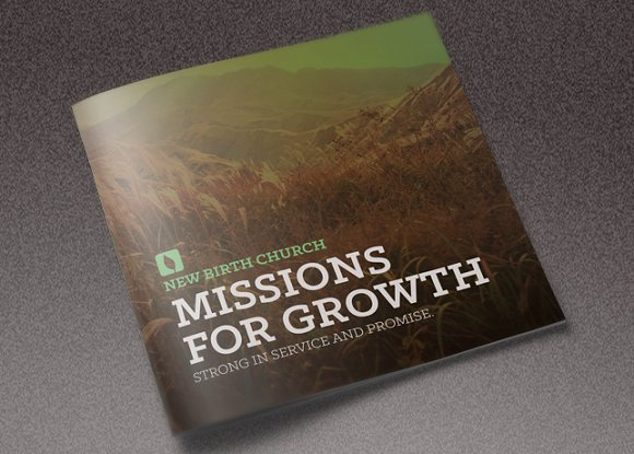 missions for growth church brochure brochures