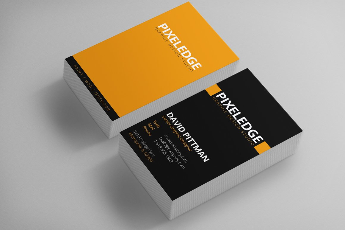 Graphic Designer Business Cards ~ Business Card Templates ~ Creative ...