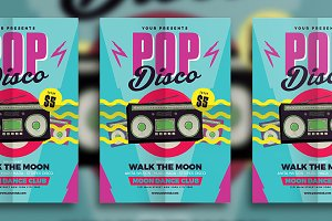 Pop Disco Flyer