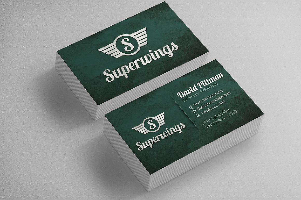 Vintage Business Cards + Free Logo! ~ Business Card Templates ...