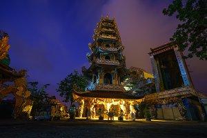 Linh Phuoc Pagoda Dalat, Vietnam