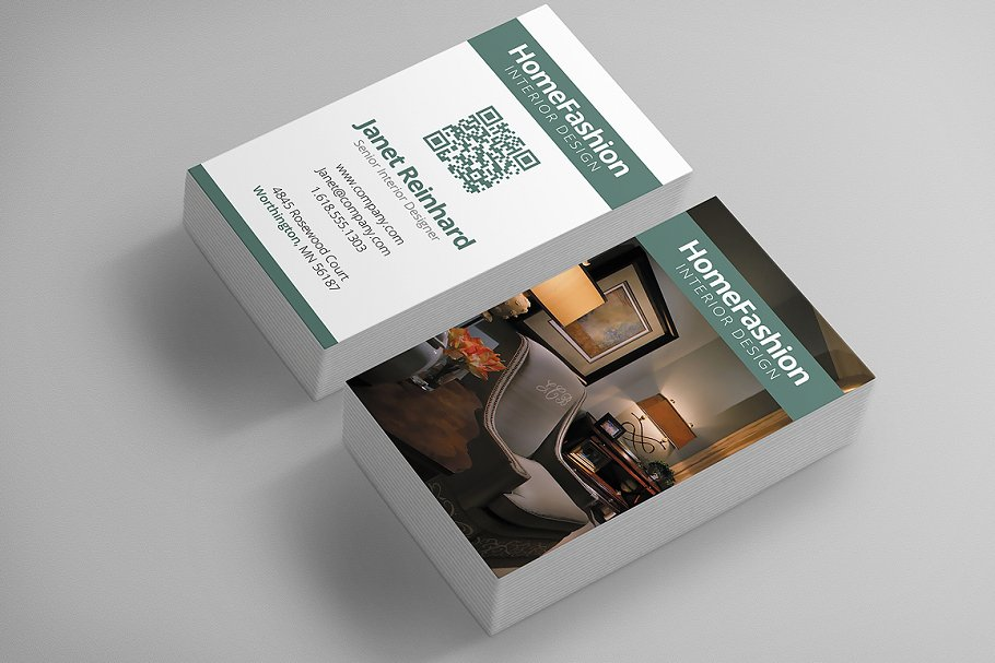 Interior Design Business Cards | Creative Business Card ...