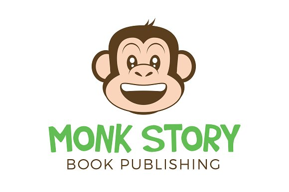 Monkey Logo - Illustrator & PSD
