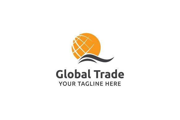 Global Trade Logo Template ~ Logo Templates ~ Creative Market