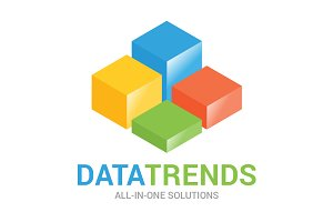 DataTrends Analytics Logo Template