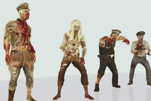 zombie pak Animation