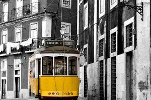 Classic tram.