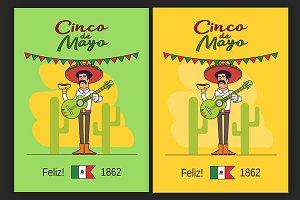 Feliz Cinco de Mayo poster