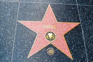 Hollywood Walk of Fame Shrek