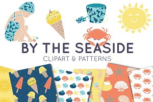 By The Seaside Clipart & Patterns