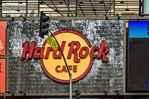 Hard Rock Cafe Hollywood boulevard