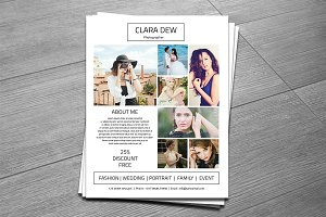 Photography Flyer Template-V260