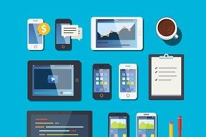 Mobile computing and development set