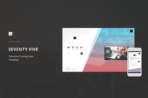 SeventyFive | Premium Coming Soon