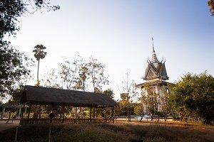 The Killing Fields in Cambodia
