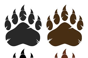 Bear Paw With Claws Collection