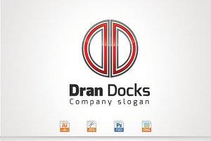 Dran Docks,D Letter Logo
