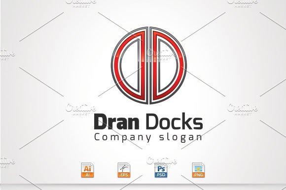 Dran Docks D Letter Logo