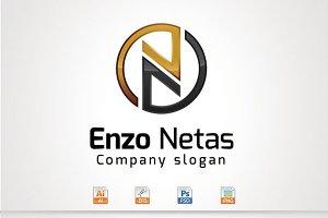Enzo Netas,N Letter Logo