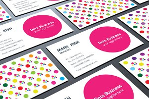 Doted Business Card