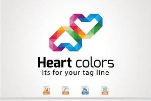 Heart colors