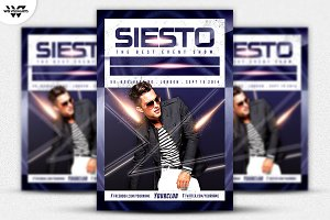 SIESTO Flyer Template