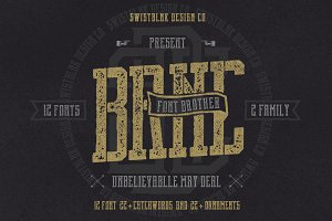 Brnc Font Brother
