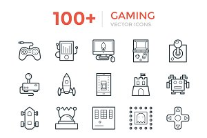 100+ Gaming Vector Icons