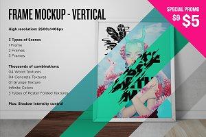 Frame Mockup - Vertical