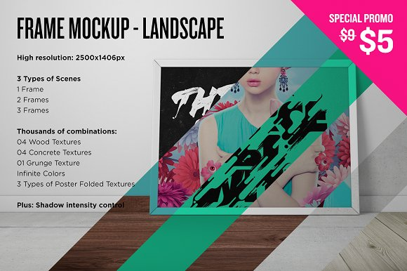 Download Frame Mockup - Landscape