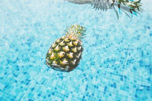 Pineapples in the Pool 1