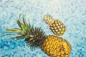Pineapples in the Pool 2