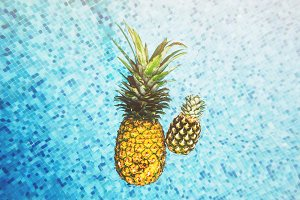 Floating Pineapples