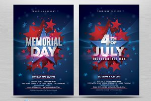 July 4th/Memorial Day Flyer