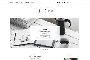 Blogger Template Responsive - Nueva