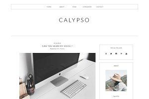 Blogger Template Responsive -CALYPSO