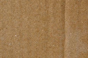 Brown corrugated cardboard background