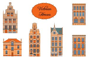 Victorian Houses. Objects+patterns