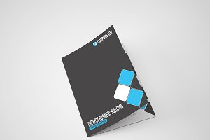 Corpoready Bi Fold Brochure Template