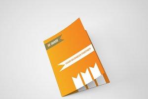 Orandie Bi Fold Brochure Template