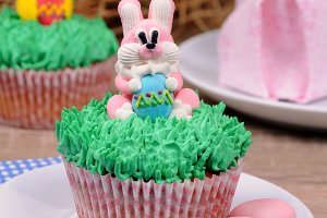 Easter muffin