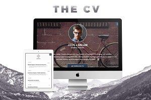 The CV - Responsive HTML5 Resume