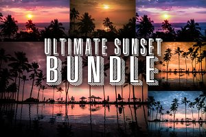 Ultimate Summer Sunset Photo Bundle