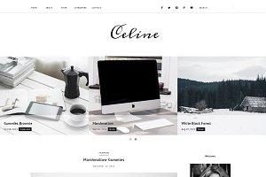 Blogger Template Responsive - Celine