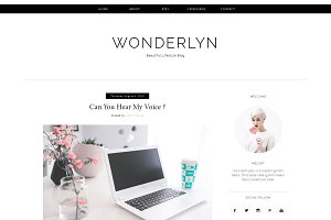 Blogger Template - Wonderlyn