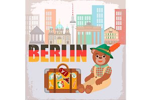 Bear Traveler in Berlin