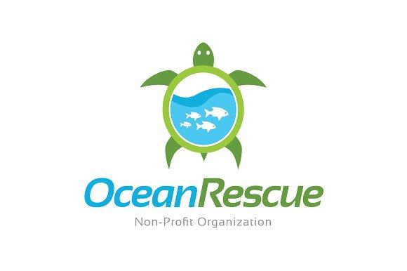 Turtle Logo Design Template
