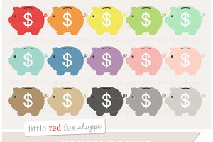 Piggy Bank Clipart