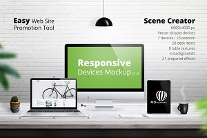 Responsive Devices Mockup
